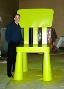 300% Scale IKEA Mammut Chair, Crispin Porter & Bogusky Commission